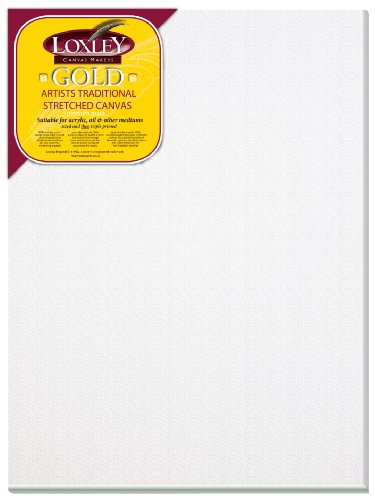 loxley-gold-lienzo-40-x-30-cm-18-mm-color-blanco