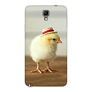 Cute Hat Chikken Back Case Cover for Galaxy Note 3 Neo