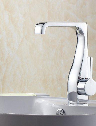 XX&GX sola maniglia cromata centerset lavandino rubinetto del bagno