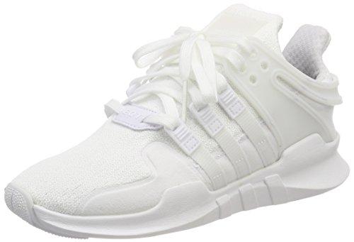 adidas Unisex-Kinder EQT Support ADV Sneaker, Weiß (Footwear White), 38 2/3 EU