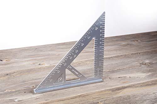 Anschlagwinkel Alumium-Winkel in Zentimeter-Ausführung Universalwinkel Schenkellänge: 17,5 cm (Holz- und Metallverarbeitung) -