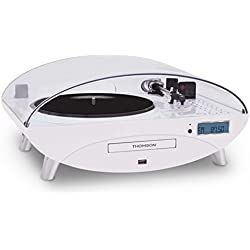 Thomson TT400CD - Tocadiscos, blanco