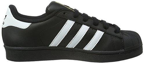 adidas B23642, Chaussures de Basketball Garçon Noir (Core Black/footwear White/Core Black)
