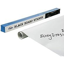 efluky Pizarra blanca adhesiva (45 x 200 cm) para hogar y oficina (Blanca)