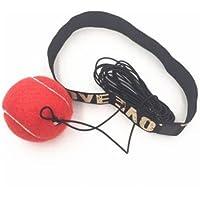 Boule élastique de combat avec la bande de tête pour l'entraînement de vitesse de réaction Entraînement de poinçon de boxe