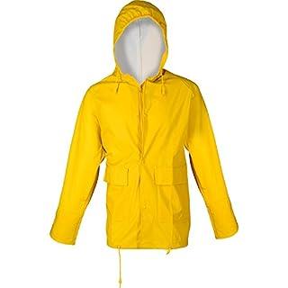 Asatex PJC XXXL 500 PU Stretch Rain Jacket, Yellow, 3X-Large
