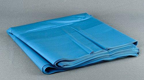 Müllsäcke 240 ltr. Typ100, blau, 65+55x135cm, 50 Stück