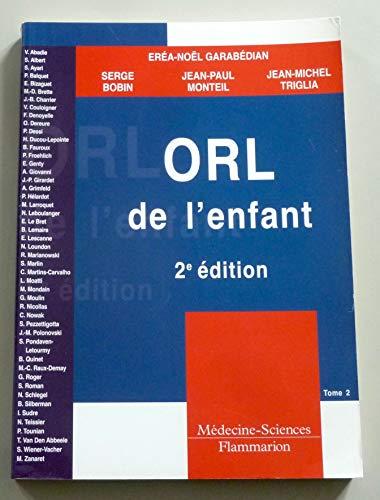ORL de l'enfant - 2e Edition