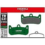 Galfer - Pastiglie per freni Formula Cura 4 Pro, G1554T, unisex, verde, taglia unica