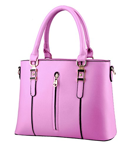 Cool Damen Handtaschen, Hobo-Bags, Schultertaschen, Beutel, Beuteltaschen, Trend-Bags, Velours, Veloursleder, Wildleder, Tasche Lila Keshi