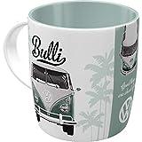 Nostalgic-Art 43033 Retro Kaffee-Becher Volkswagen - VW Bulli Good Things are aheay of you, Große Lizenz-Tasse mit tollem T1 Motiv, Geschenk-Idee für Vintage-Liebhaber, 330 ml