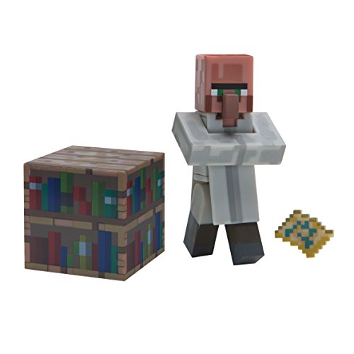 "Minecraft 16496 ""Librarian Viillager"" Figure"