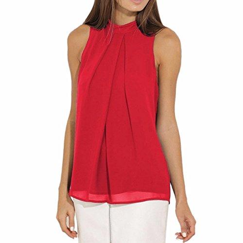 QIYUNZ-Camisetas-Para-Mujer-Blusa-Sin-Mangas-Chaleco-De-Gasa-Tops