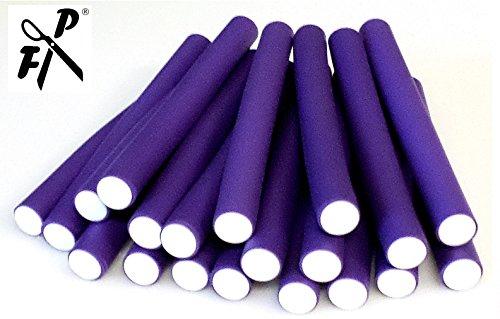 Papilotten Flex-Wickler-Set violett Ø 20 - 21 mm (Set 21 tlg. 20 Stck. + Tasche)