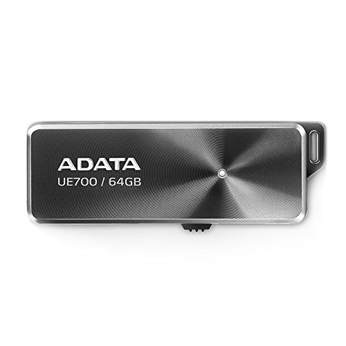 Adata UE700 USB 3.0 64GB Pen Drive (Black)