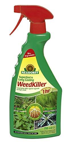 Neudorff Superfast & Long Lasting Weedkiller RTU 750ML (Pack Of 2)