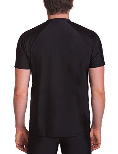 iQ-UV Herren 300 Shirt Regular Geschnitten Schutz Uv T-Shirt black