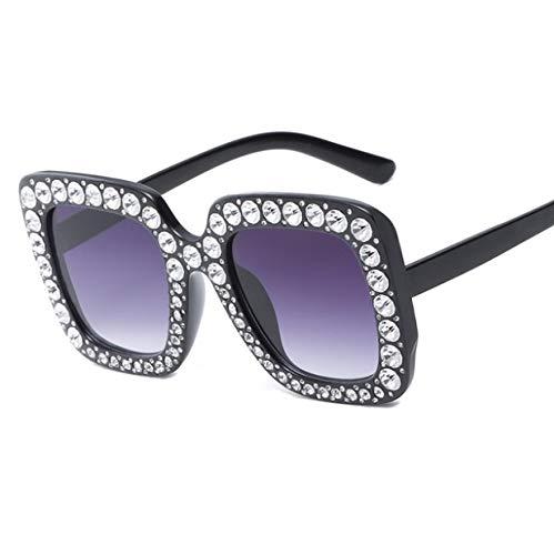 LONYENMA Luxus Perle VerziertSchwarz Klar Sonnenbrille Frauen Nachtsicht Brillen Runden Gesicht Lange GesichtQuadrat Gesicht Oval