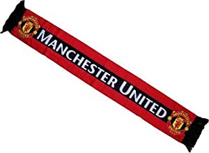 Echarpe - MANCHESTER UNITED - Collection officielle - Football club Angleterre - Taille 138 cm