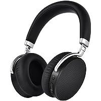 Elekele Casque Bluetooth Réduction Active du Bruit (24dB) et APTX LL Casque Stéréo Bluetooth 4.2 Écouteurs ANC Sans Fil Casque Audio Over-Ear Bluetooth Casque Pliable avec Micro (Casque Bluetooth Réduction Active du Bruit)