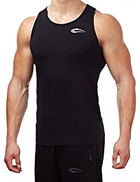 "SMILODOX Men's Sleeveless Tank Top / T-Shirt / Vest / Muscle Tee / Regular Fit ""SMILOFACE""Print"