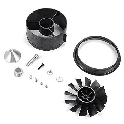 XCSOURCE® 64mm Duct Gehäuse Ventilator 12-Blatt Prop Unit Ersatzteile für RC EDF Jet Airplane RC496