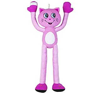 Stretchkins Light Up Cat Plush Toy (Pink)