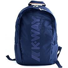 K-Way - Bolso mochila  para mujer azul turquesa taglia unica