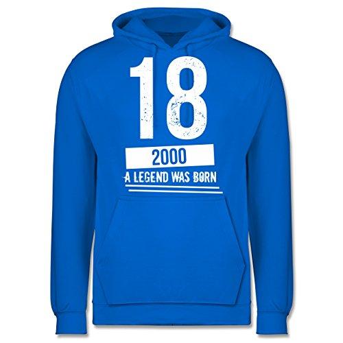 Geburtstag - 18 Geburtstag Jungs - Herren Hoodie Himmelblau