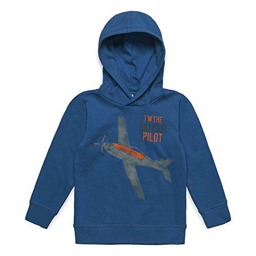 ESPRIT KIDS Jungen Sweatshirt RM1505409, Blau (Twilight Blue 472), (Herstellergröße:116+)