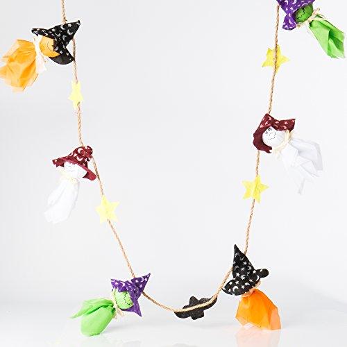 miduxian Halloween Party Dekorationen Ghost Strings 5.6 Feet Long Halloween 6 Hanging Ghosts Prop Hanging für Outdoor Indoor Bar,Christmas gift ,Christmas ()