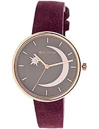 Reloj Bilyfer para Mujer con Correa en Morado y Pantalla en Verde 1F662-GR