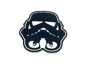 Stormtrooper Casque Noir Star Wars PVC Airsoft Fan Patch