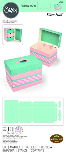 Sizzix Box Treasure Fustella, Multicolore, taglia unica - 4