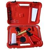 air conditioning tools. hand held brake bleeder tester set bleed kit vacuum pump car motorbike bleeding air conditioning tools