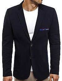 OZONEE Herren Sakko Business Anzug Kurzmantel OZN 008