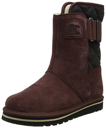 Sorel Damen Newbie Kurzschaft Schlupfstiefel, Rot (Redwood/Black), 41.5 EU