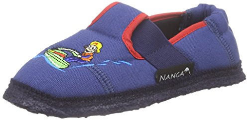 Nanga Wassersport, Chaussons courts, non doublées garçon Bleu - Blau (30)