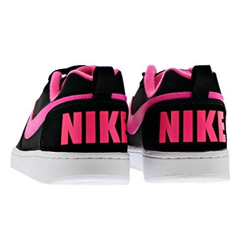 Nike Court Borough, Chaussures de Sport-Basketball Femme Noir
