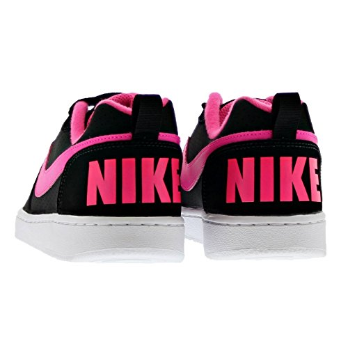 Nike Court Borough Low (Gs), Scarpe da Basket Donna Black