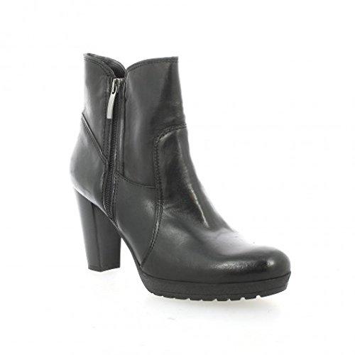 Pao Boots cuir noir Noir