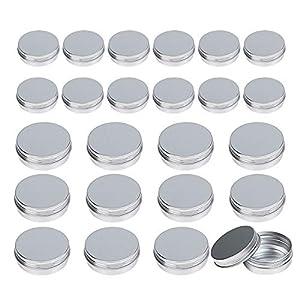 quiromasajista: 24 pcs lata aluminio vacio LANMOK hacer labio Ungüento de dos medidas 30ml y 60m...
