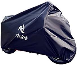 Raida RnyT137 RainPro Bike Cover for Royal Enfield Thunderbird 350 (Navy Blue)