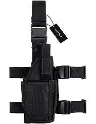Pistolenholster, Tactical Handpistole Oberschenkel Tasche verstellbare Military Airsoft Pistolenhalt