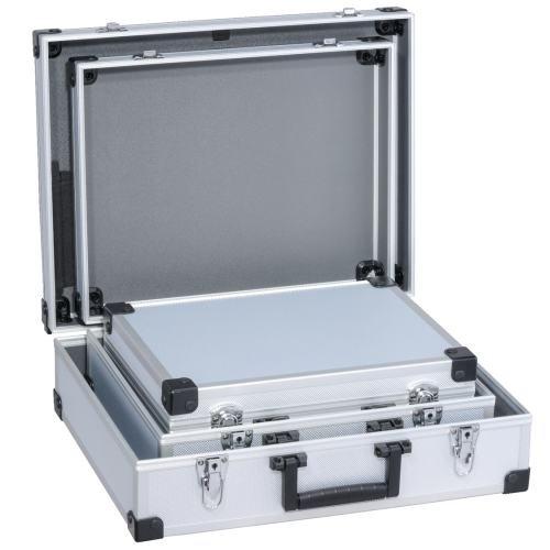 Allit Utensilien Verpackungskoffer, 1 Stück, silber, 424203