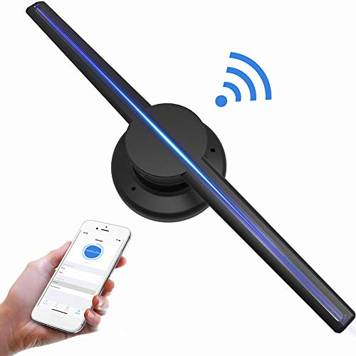Sguan-wu 16.54in 640P HD schwimmendes 3D-Video-LED-WLAN-Hologramm-Display-Fan-Player-Projektor - US-Stecker