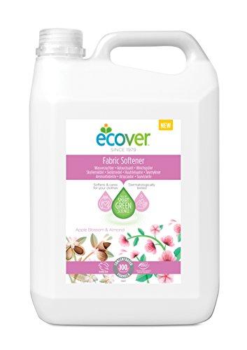 Ecover-Detergente Apple Blossom y almendra suavizante Acondicionador, 5L