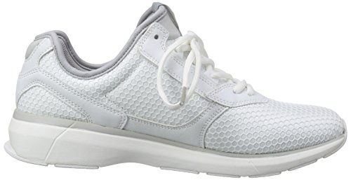 JACK & JONES Jjinvictus Kurim Finemold Sneaker, Scarpe da Ginnastica Uomo Bianco (Weiß (Bright White))