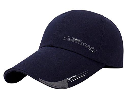 k Cap Klassische Kappe Verstellbar Baseball Cap Trucker Cap - Navy Blau ()
