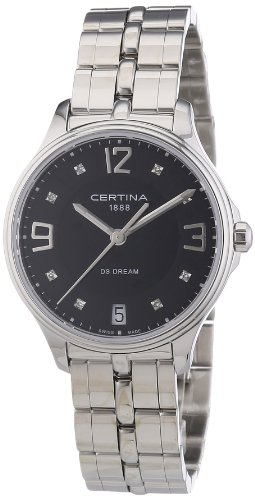 Certina Ladies'Watch XS Analogue Quartz Stainless Steel C021,210,11,056,00